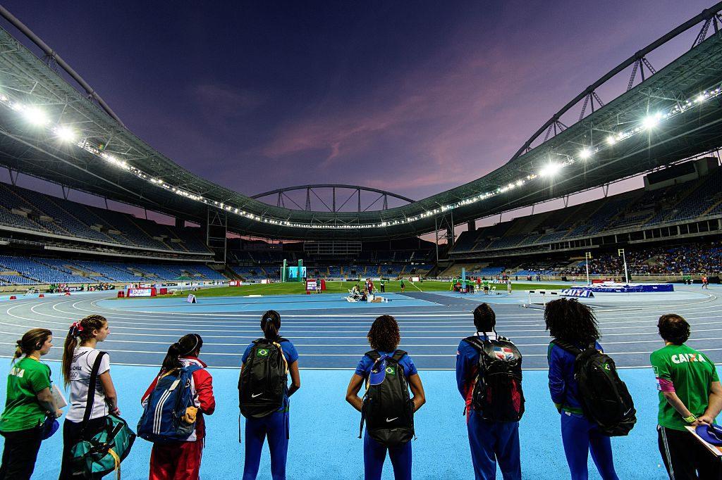 Vista general del Estadio Olímpico de Río 2016. Foto: Yasuyoshi Chiba/AFP/Getty Images