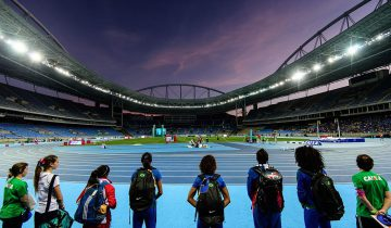 Vista general del Estadio Olímpico de Río 2016. Foto: Yasuyoshi Chiba/AFP/Getty Images