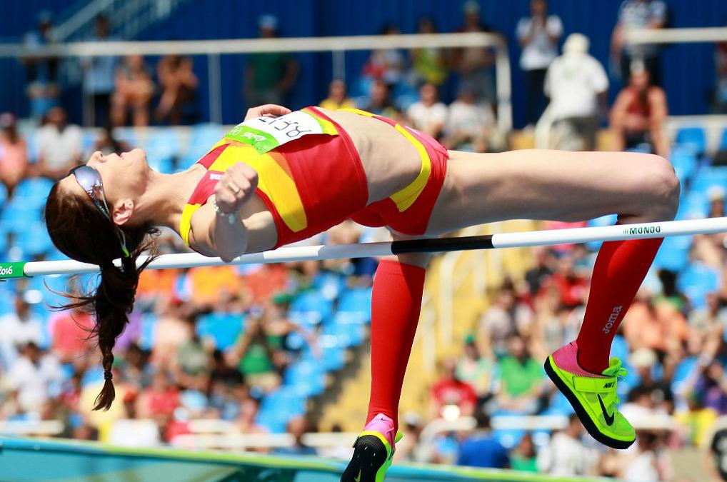 Ruth Beitia, medalla de oro en Río 2016.