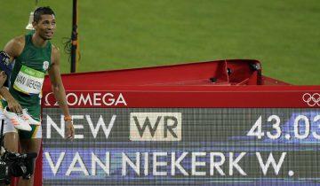 Wayde Van Niekerk (Sudáfrica), récord mundial y olímpico en 400 metros lisos.