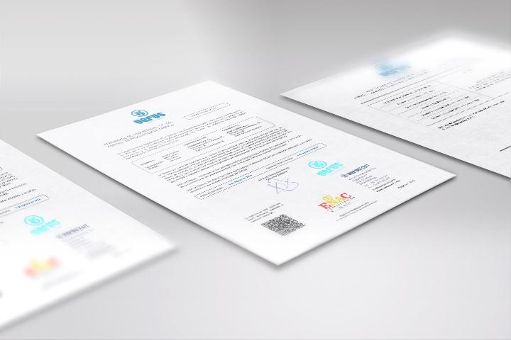 Certificado de conformidad CE del control de producción en fábrica otorgado a Mondo.