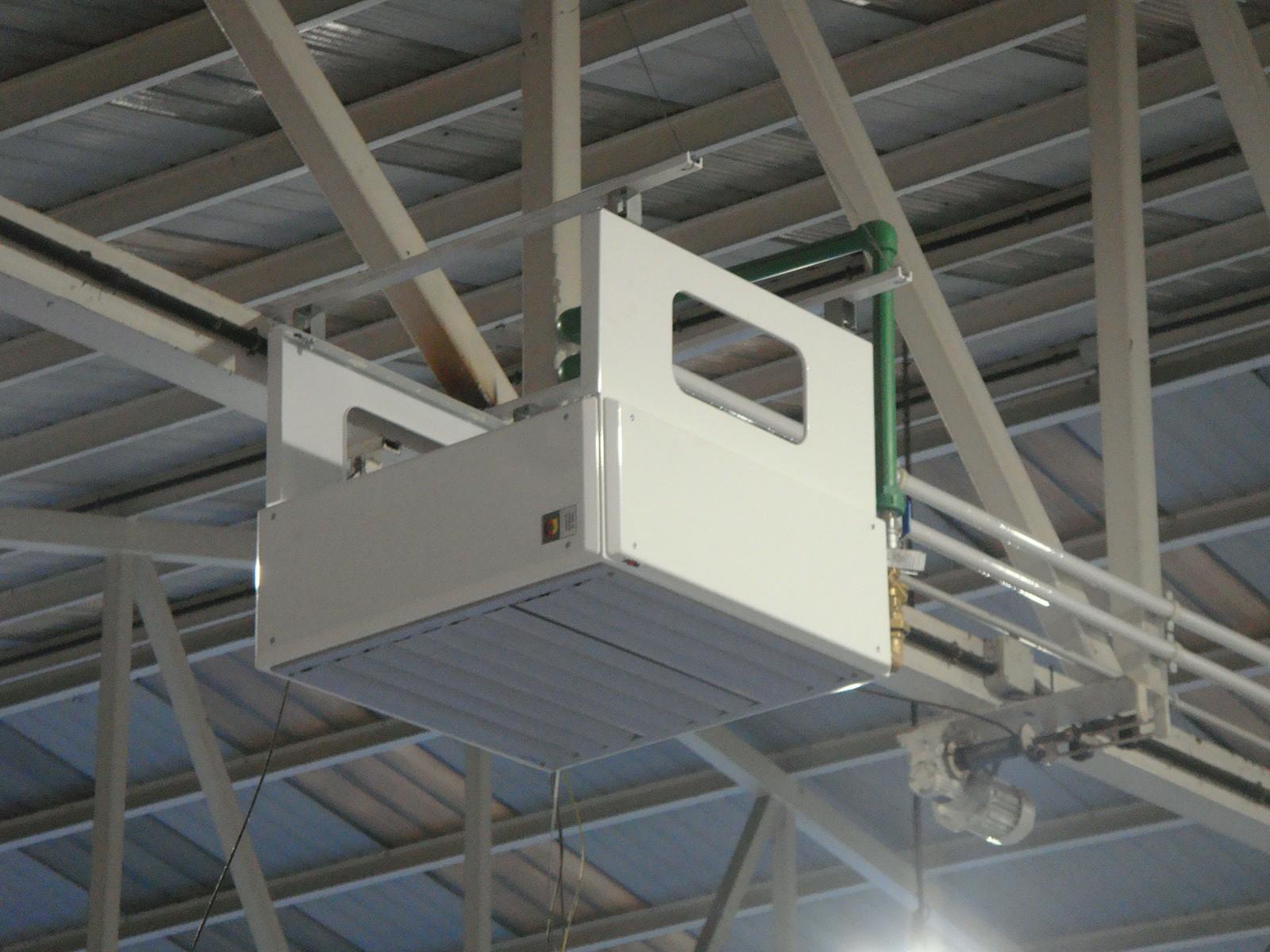 Aprovechamiento termal para climatización del pabellón