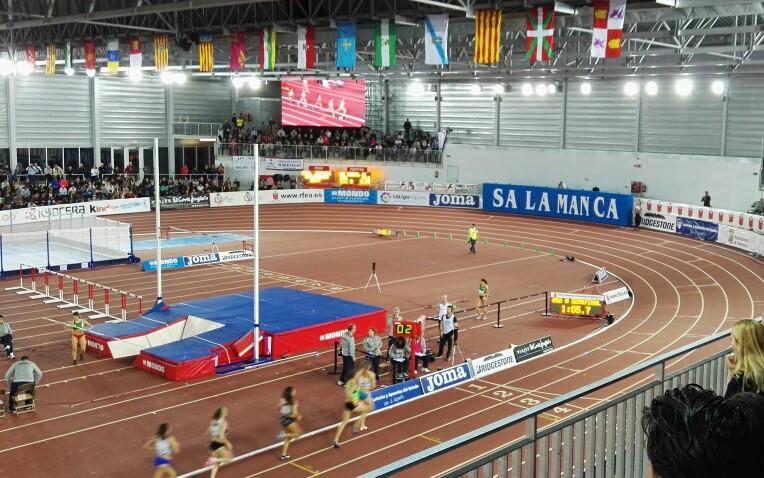 53º Campeonato de España Absoluto en Pista Cubierta, disputado en Salamanca.