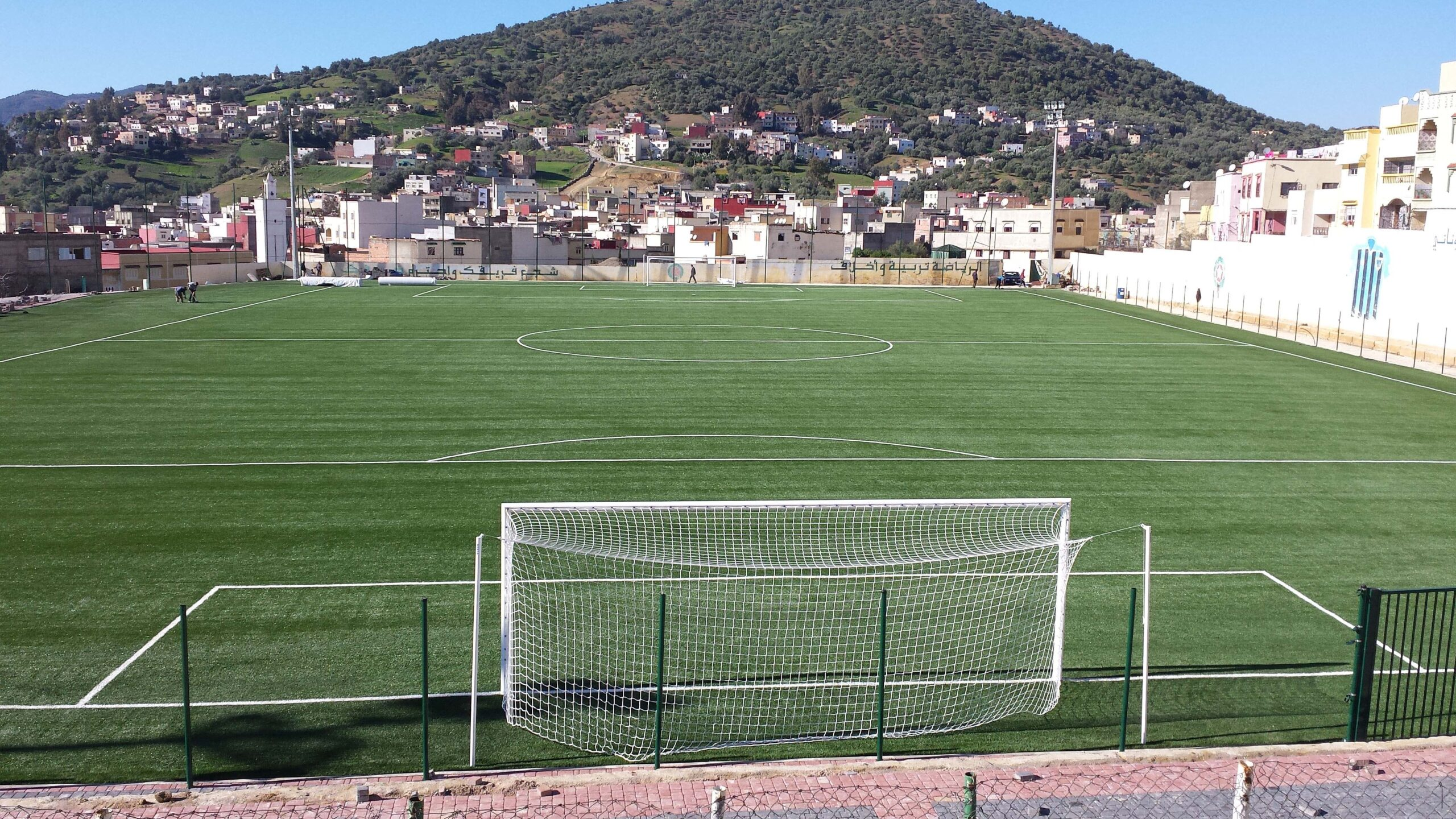 Campo de juego 16 Novembre (USTA) de Taounate.