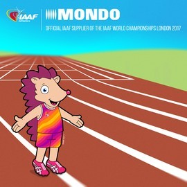 Hero es el nombre de la mascota de la competición. El diseño ha sido creado por Elinor, una niña inglesa de nueve años.