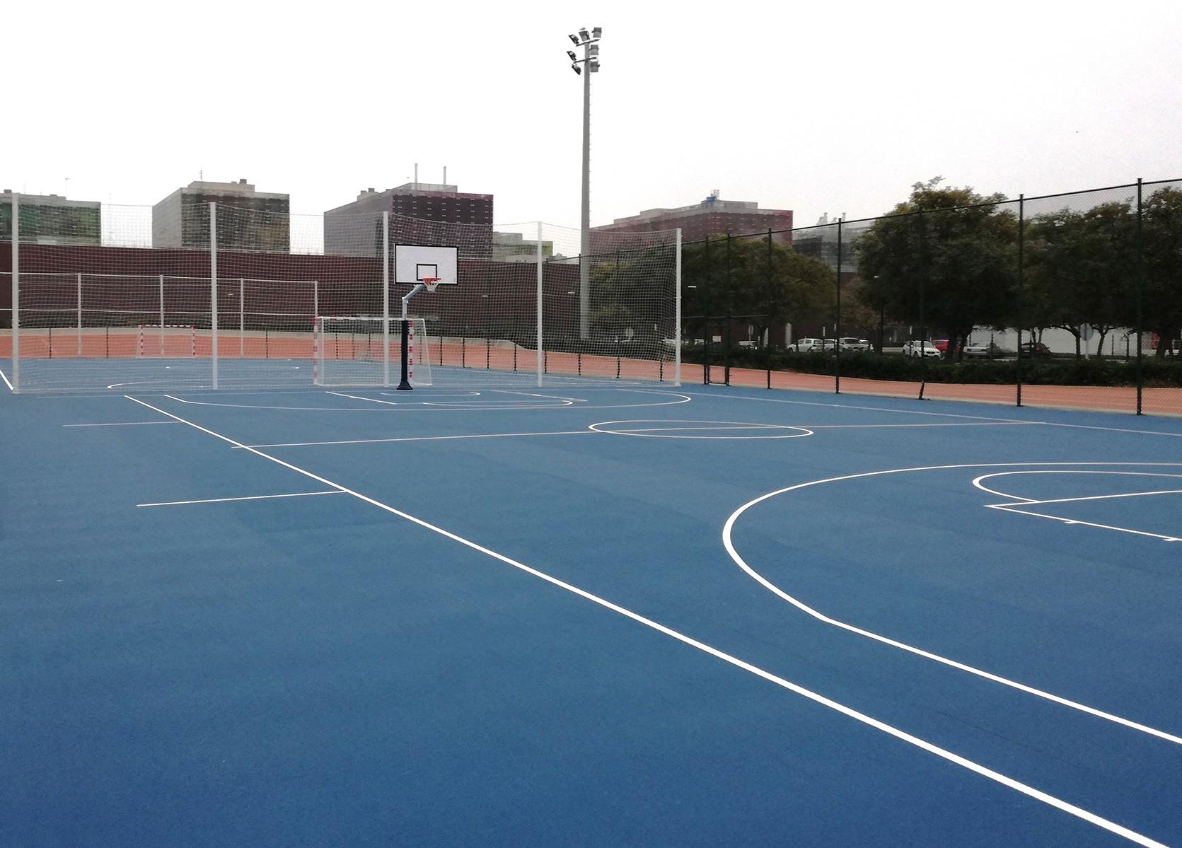Pavimento Que Es : Sportflex m un pavimento para superficies deportivas de exterior