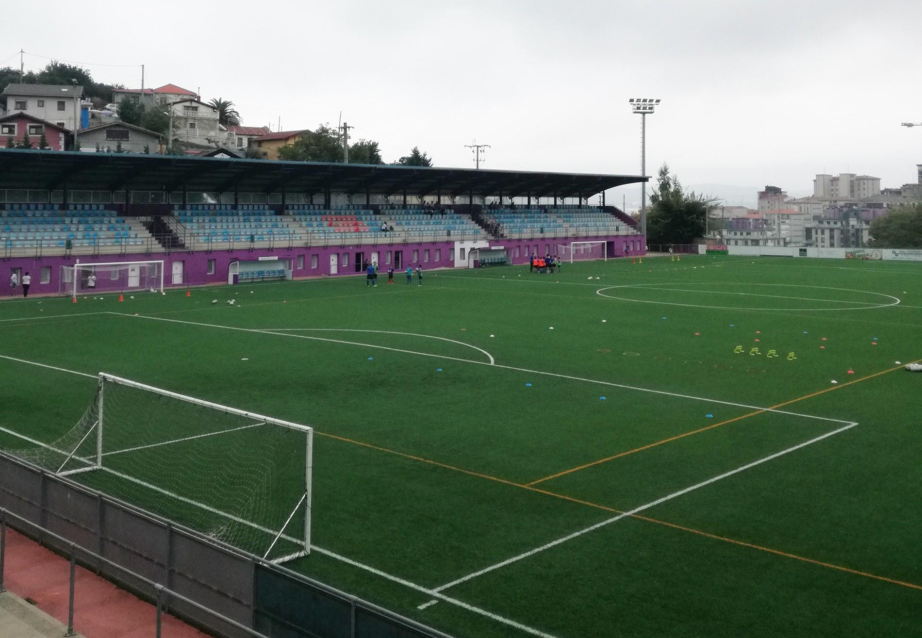 El campo de San Jorge (Santurtzi), equipado con el sistema de césped DUAL, ha obtenido la certificación FIFA Quality Pro.