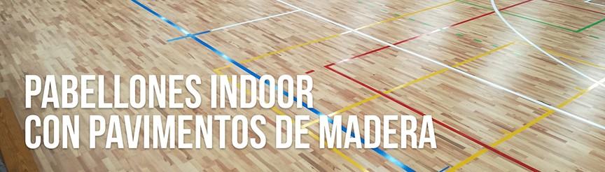 Mantenimiento del pavimento en pabellones indoor con pavimentos de madera
