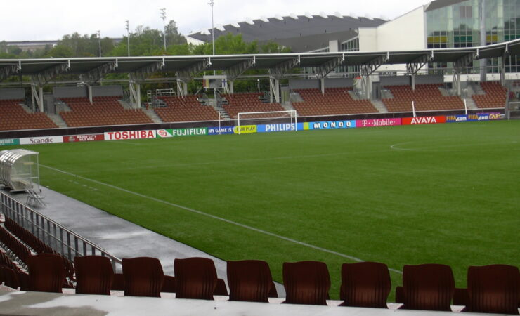 Estadio Telia 5G de Helsinki (Finlandia)