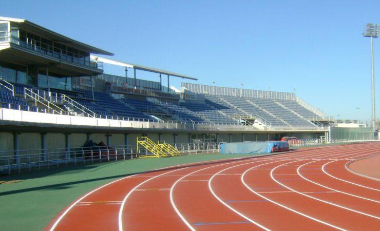 Pista de atletismo del Actur (Zaragoza)