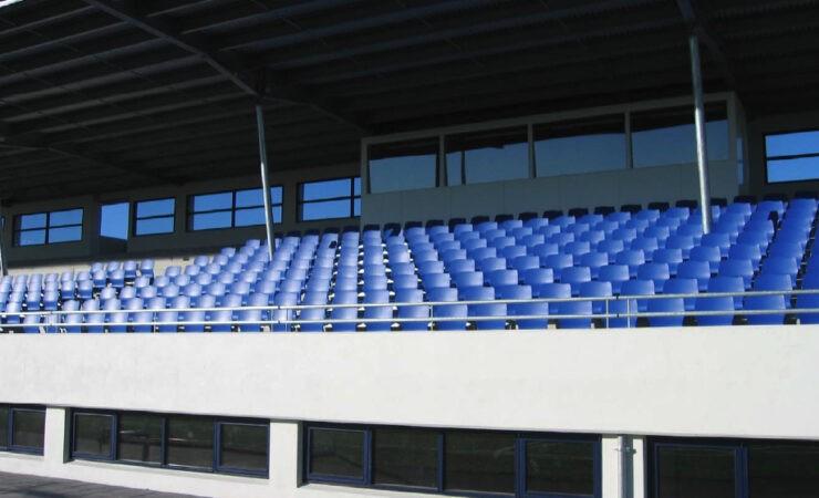 Campo de fútbol en Gardabaer (Islandia)