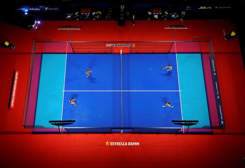 Simulación de la pista azul bitono que se estrenará en Master Final