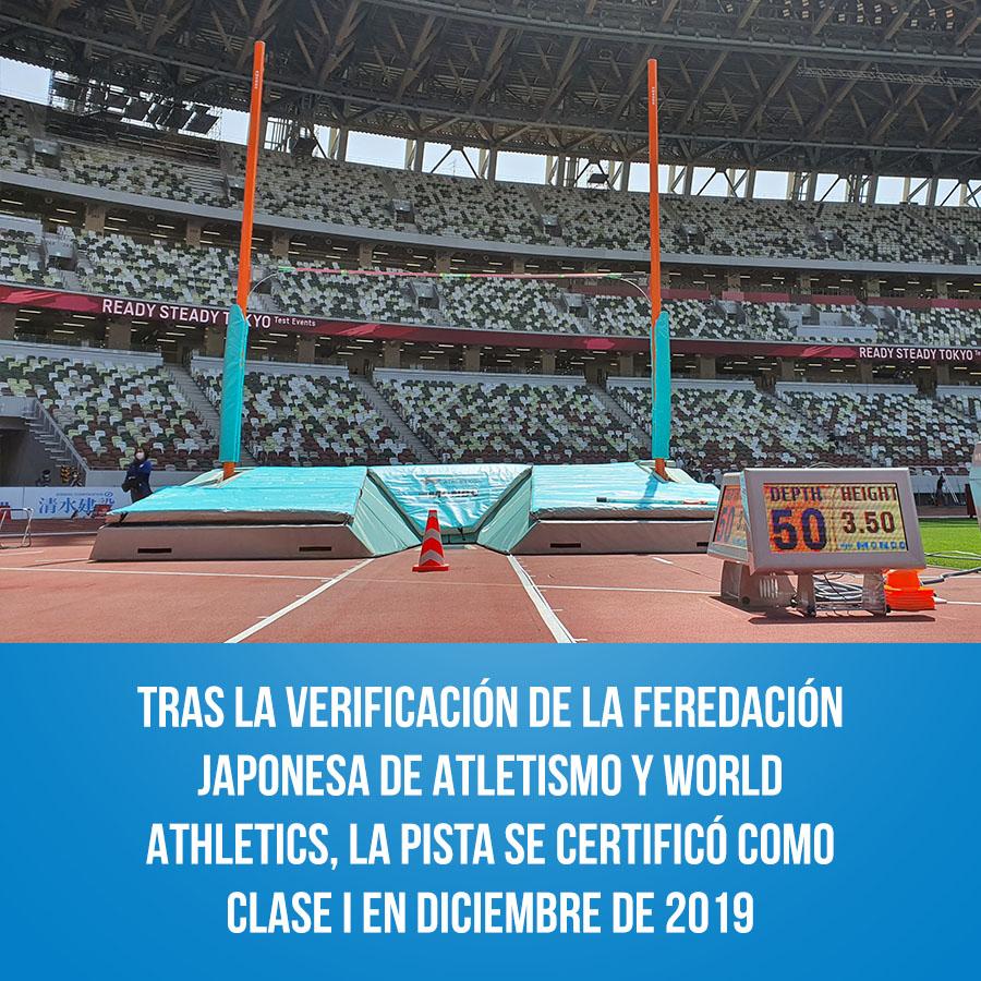 Atletismo - Juegos Olímpicos de Tokio