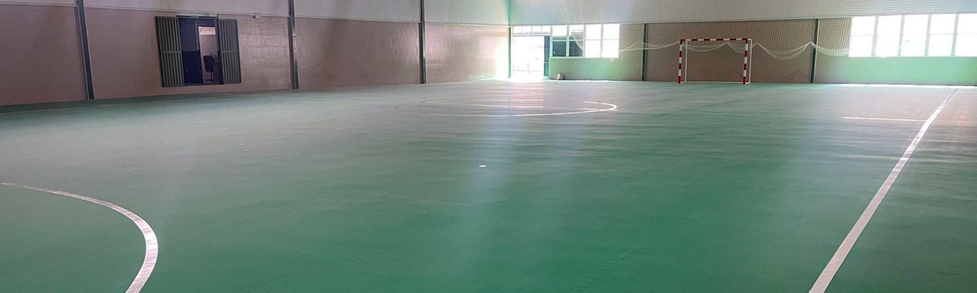 Pabellón 'La Antigua' de Mérida, equipado con pavimento Mondoflex 2,5 + Everlay 4,7